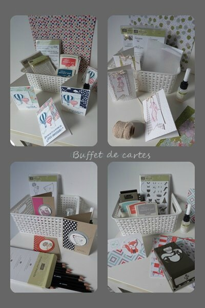 buffet de cartes