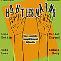 Affiche pestacle -haut les mains-