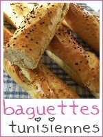 Tunisie - baguettes semoule tunisienne - index