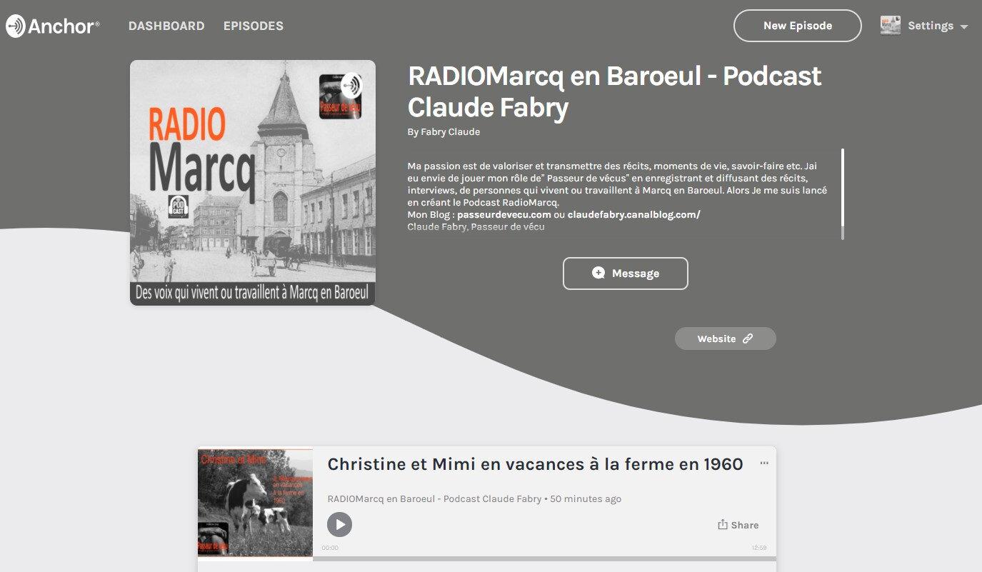 Podcast Radio Marcq