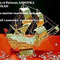 Le bateau de prospérité du maître marabout medium assouka