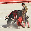 8 Indulto 4, Faena, José Tomas, Ingrato toro de Parladé, Nîmes Vendanges 16