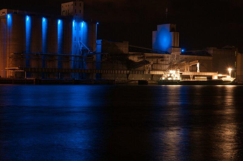 port de bayonne de nuit3