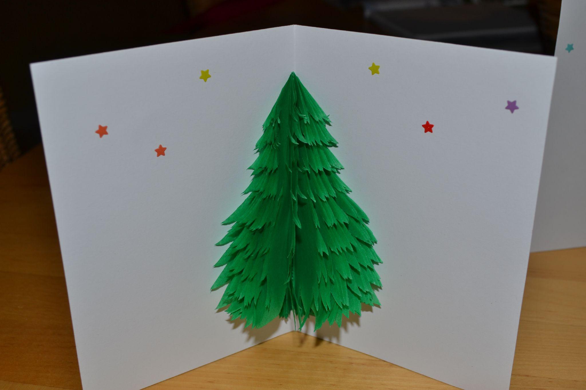 Fabriquer des cartes de noel en relief