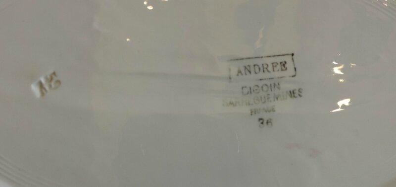 Plat ovale 30,5cm Andrée (2)
