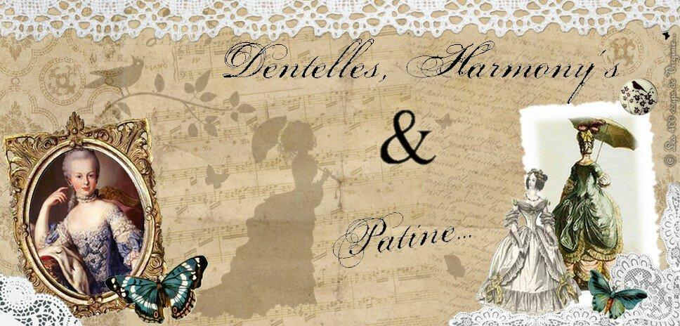 Martine - Dentelles, Harmony's & Patine...
