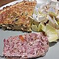 0505 Tarte à l'ail et au fromage 5