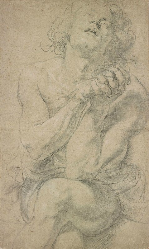 Seated Male Youth