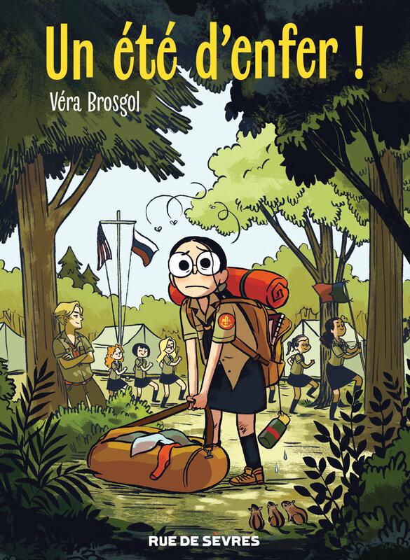 Un été d'enfer Vera Brosgol