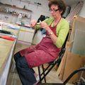 Elle travaille très dur copine Sylvie...houlalalaaaaa !!!