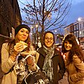 Celia, Cecile and I on Camden High Street