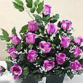Arrivage jardinière de fleurs artificielles cimetière pour tous les budgets!