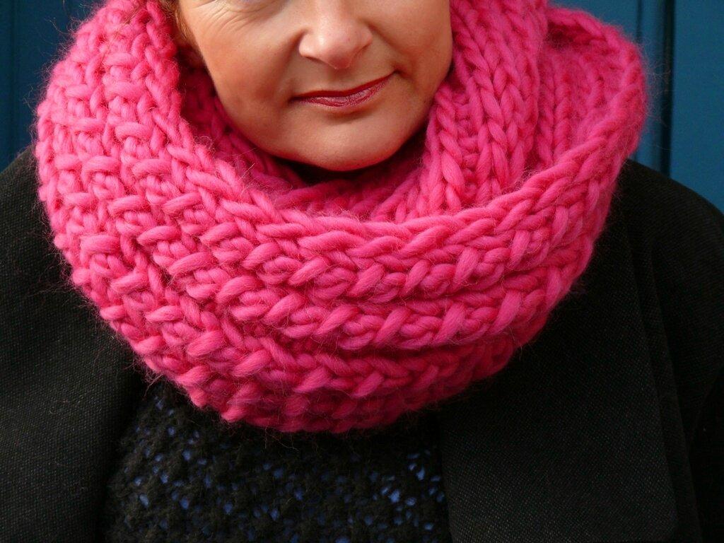 Bollywool  le maxi snood - Bee made 8879cb50ed0