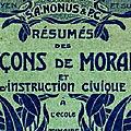 Leçons de morale