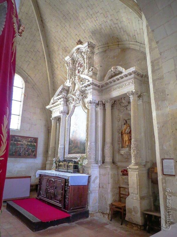 L'église Saint-Michel, église paroissiale de Fontevrault IMG_7921