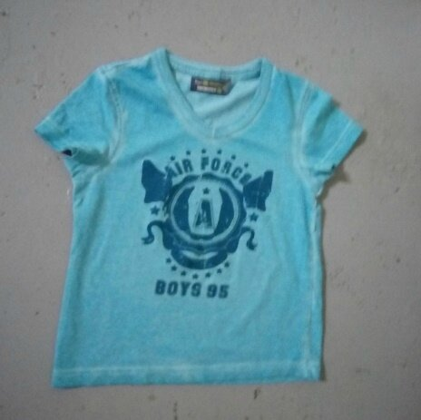 Tee-shirt air force, 2 ans