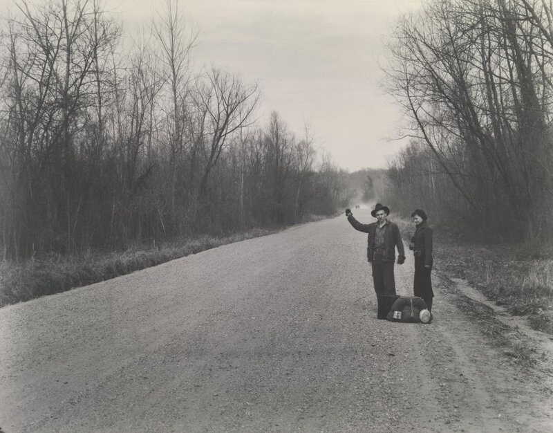 walker evans hitchhike