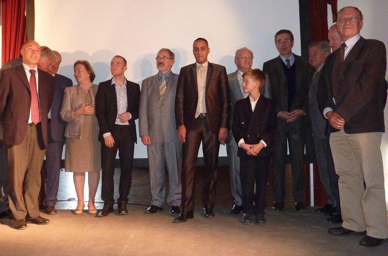 P6 - 1 - Les lauréats et les membres du jury