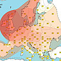 Genetic similarities of European peoples to Iron Age Celt tribes
