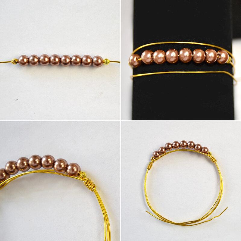 PandaHall-ideas-on-making-Simple-Pearl-Bracelet-2