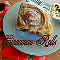 Cinnamon rolls - rouleaux à la cannelle recette disney world's magic kingdom