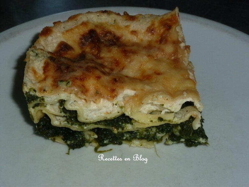 lasagnes épinards ricotta1