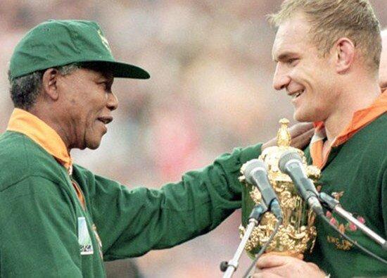 Mandela 1995 Rugby Springboks