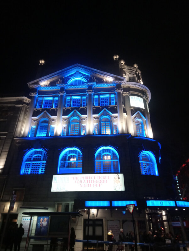 Mamma Mia au Novello Theatre London