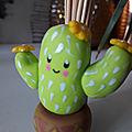 Cactus porte pics pour l'apéro