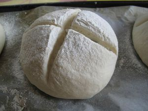 Petits pains aux graines de courge 8