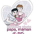 Papa, maman et moi et moi et moi