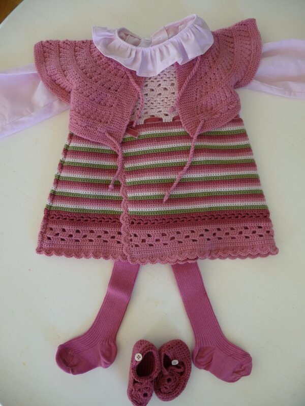 chemise violette et ensemble fraise 058