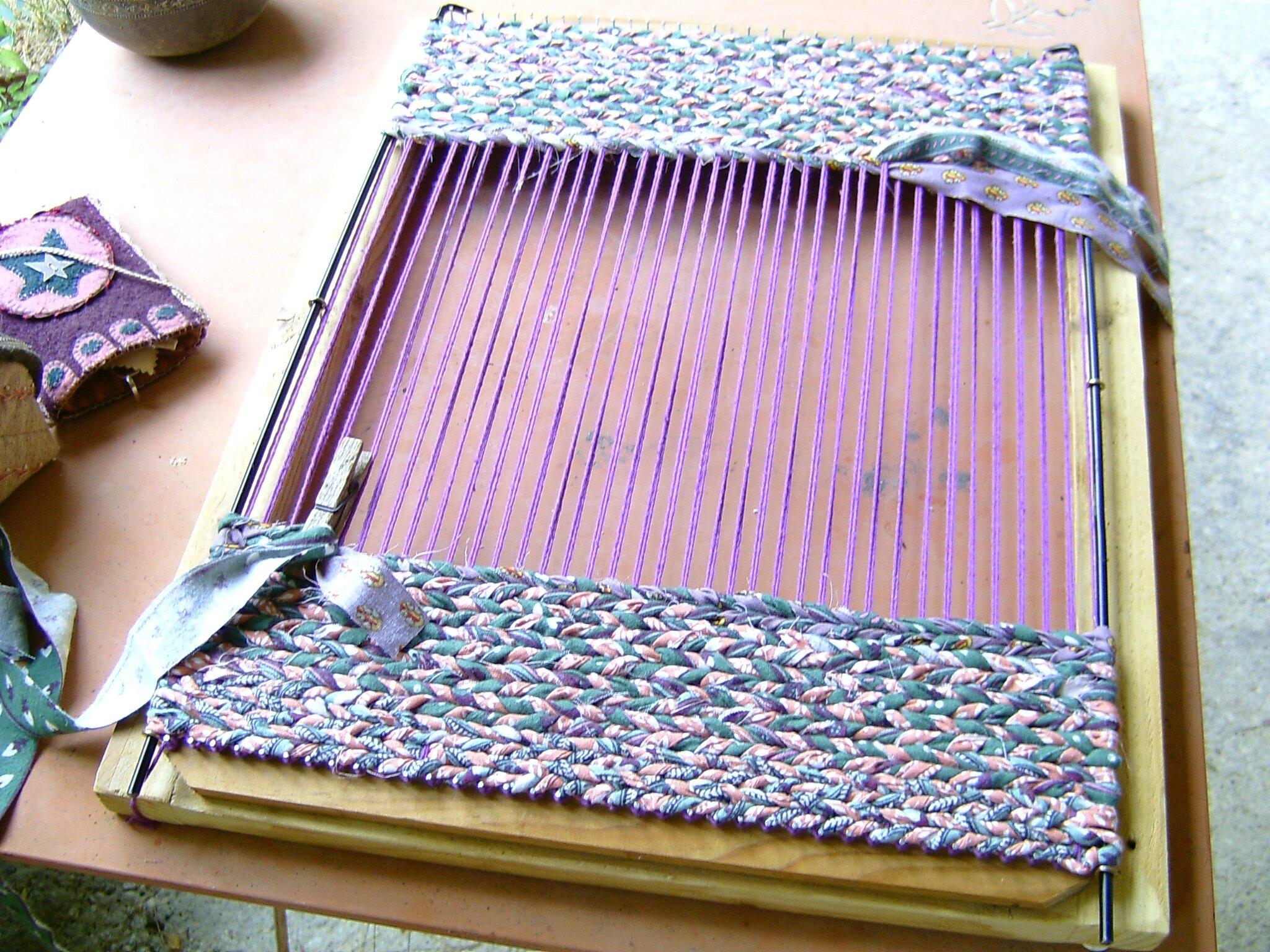 tapis tréssé sur cordes