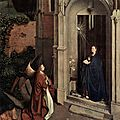 1450 (ca) PETRUS CHRISTUS : Annonciation
