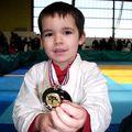 Rayan, médaille d'argent de judo