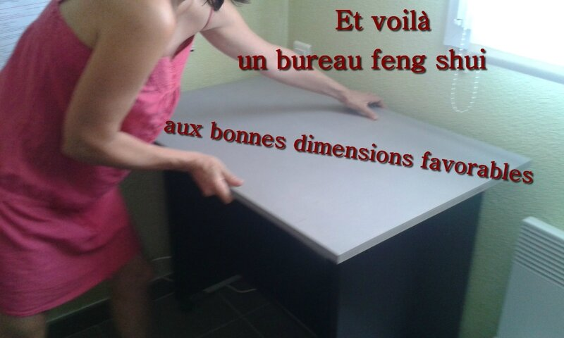 comment am nager un bureau feng shui le vent et lou. Black Bedroom Furniture Sets. Home Design Ideas