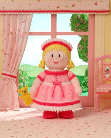 Traduction Princess Penelope and Snuggles - Dolly Mixtures - Jean Greenhowe