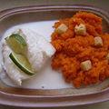 Cabillaud et carottes au cumin