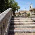 Escalier de la terrasse