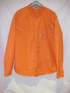 Chemise Kermel orange face flash
