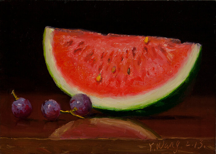 fresh fruit watermelon Eugene Wang