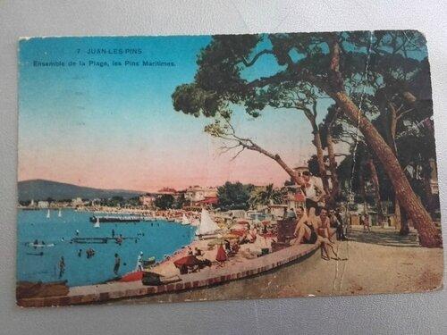 Juan les pins datée 1953
