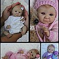 Bebe reborn chic....special tetes !