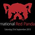 Aujourd'hui, 21 septembre, journée internationale du panda roux