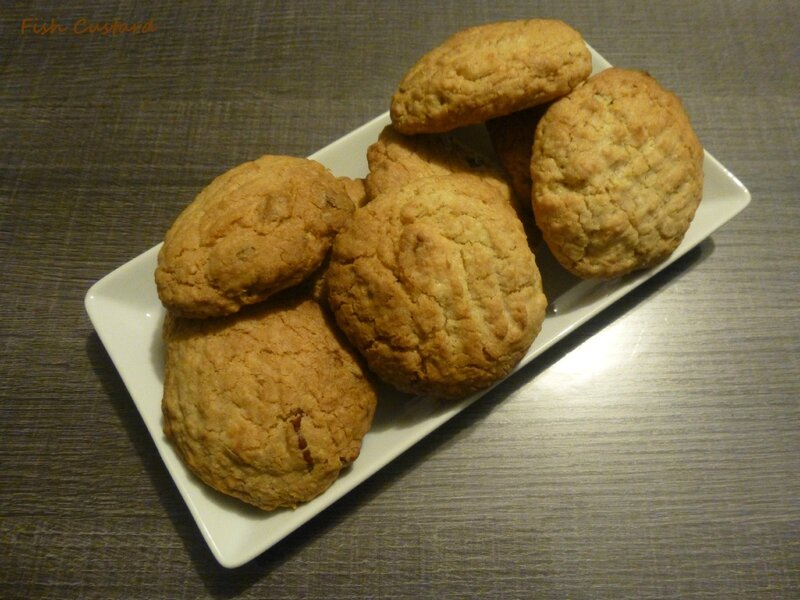 Cookies chocolat blanc avoine pécan (17)
