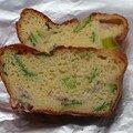 Cake aux harengs et aux poireaux