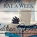 Rat a week, winter edition