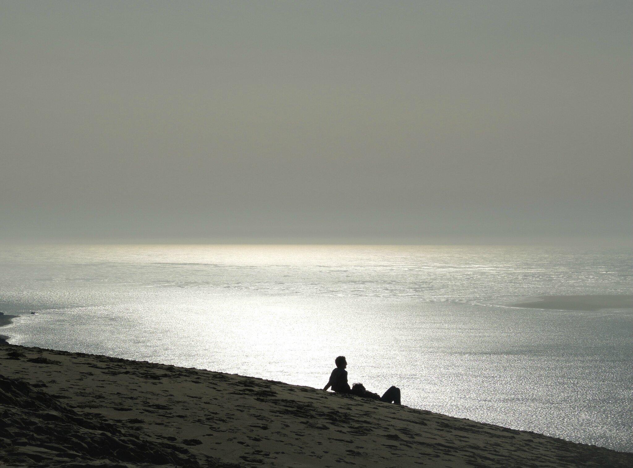 Dune du Pilat, amoureux, février (33)