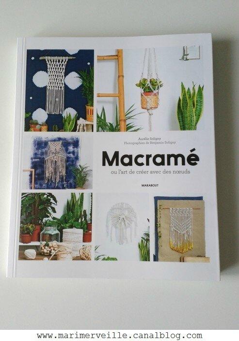 Macramé éditions Marabout - blog Marimerveille