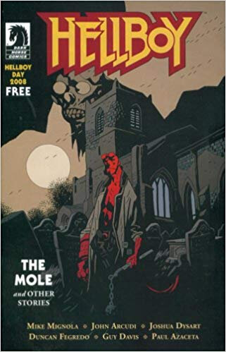 dark horse hellboy the mole and other stories